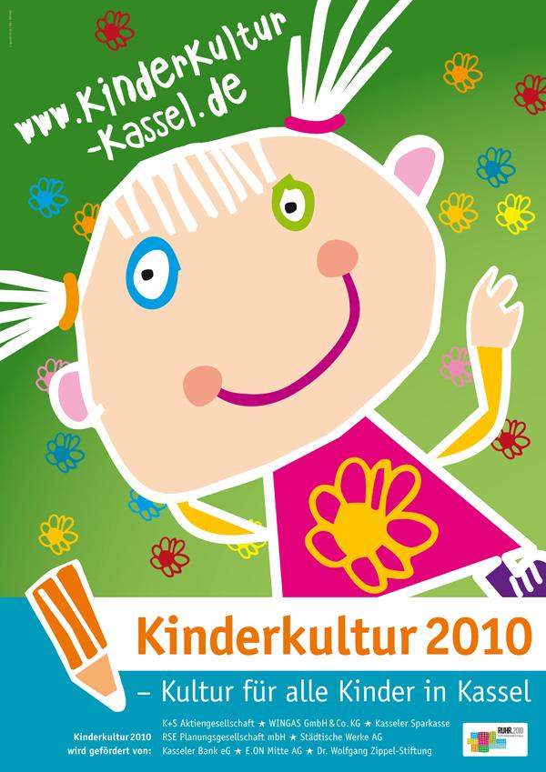Poster Kinderkultur 2010