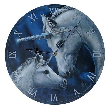 Sacred Love Unicorn - Lisa Parker Clock