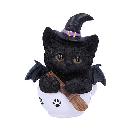 Kit-Tea Cat Ornament - 11.5cm