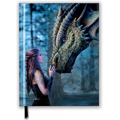 Once Upon a Time Embossed Blank Sketch Book - Anne Stokes