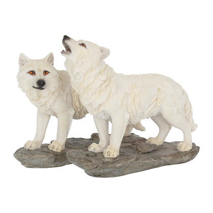 The Watchers Wolf Ornaments (Set of 2) 15.6cm