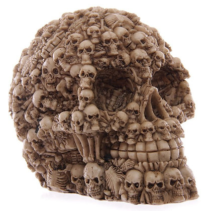 Multiple Skulls Head Ornament