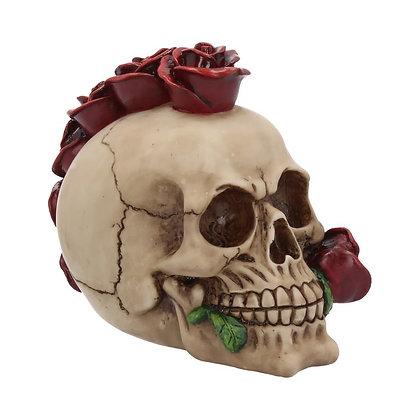 Rosehawk Skull Head Ornament 16cm