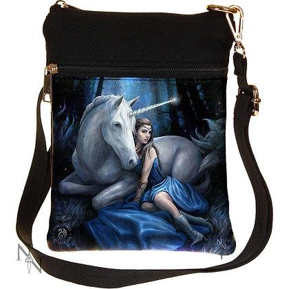 Blue Moon Unicorn Shoulder Bag 23cm (Anne Stokes)