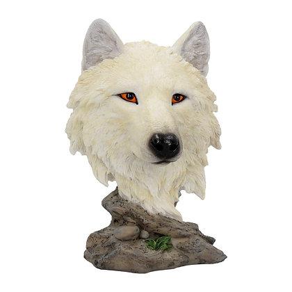 Snow Searcher Wolf Ornament 16cm
