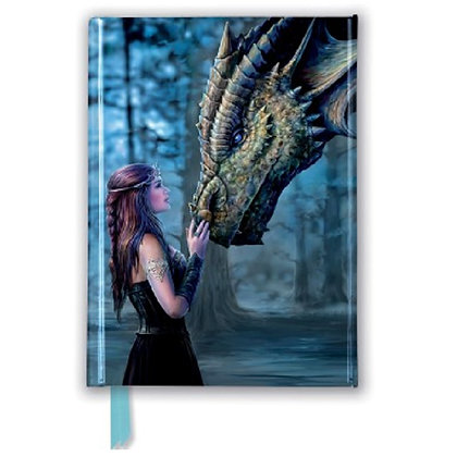 Once Upon a Time Embossed Pocket Book - Anne Stokes