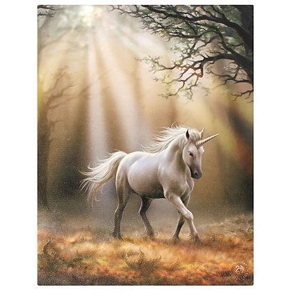 Glimpse Unicorn - Anne Stokes Canvas