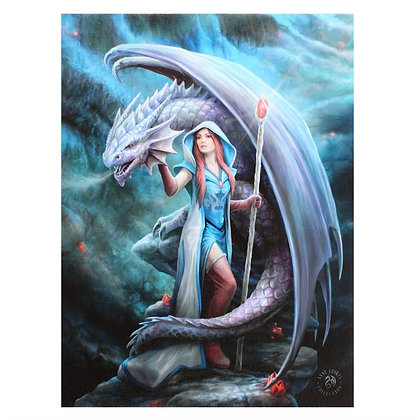 Dragon Mage - Anne Stokes Canvas