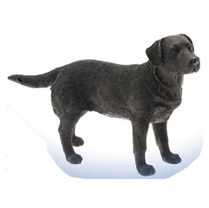 Leonardo Black Labrador Dog Ornament