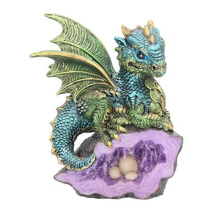 Nest Guardian Dragon Ornament 13cm