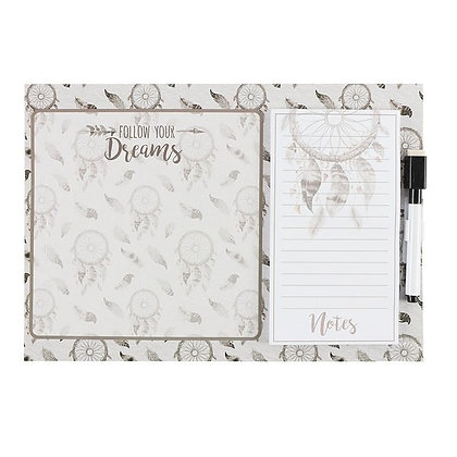 Grey Dreamcatcher Magnetic Whiteboard Set