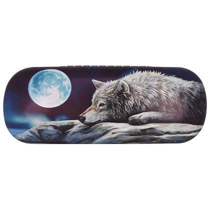 Quiet Reflection Wolf - Lisa Parker Glasses Case