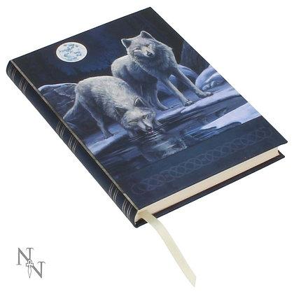 Warriors of Winter Wolf Embossed Journal - 17cm (Lisa Parker)