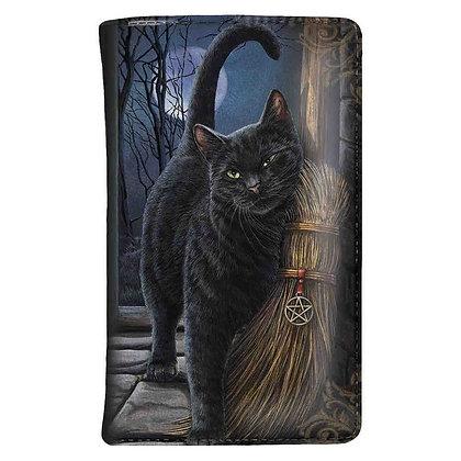 A Brush with Magick Cat Purse - 14cm (Lisa Parker)