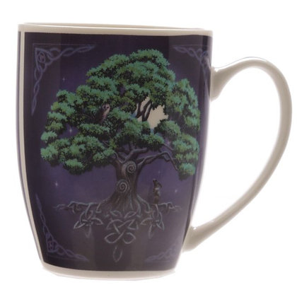 Tree of Life Bone China Mug (Lisa Parker)
