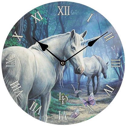The Journey Home Unicorn - Lisa Parker Clock