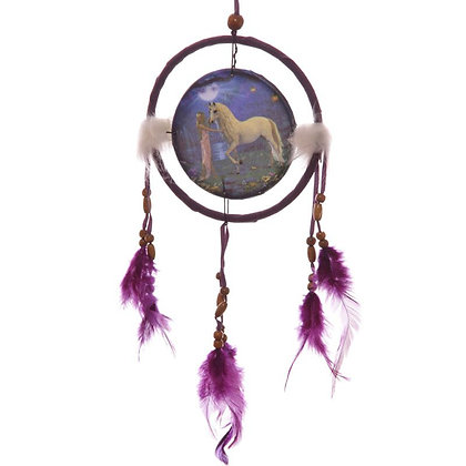 Unicorn Garden Dreamcatcher - 16cm