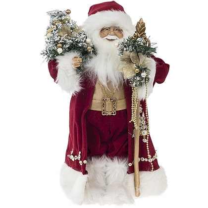 Christmas Santa in Traditional Costume - 18in