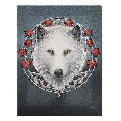 Guardian of the Fall Wolf - Lisa Parker Canvas