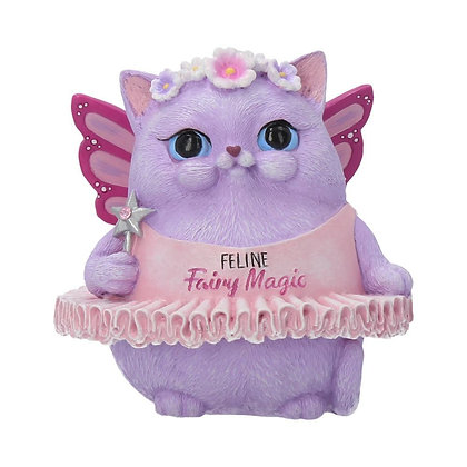 Feline Fairy Magic Ornament - 8.5cm