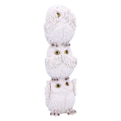 Wisest Totem Owls Ornament 20cm