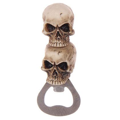 Double Skull Bottle Opener