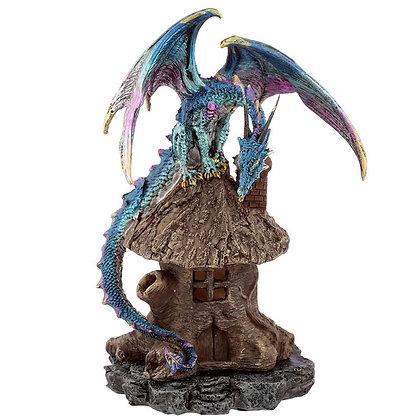 Dark Legends Blue Dragon Forest Dweller Incense Holder