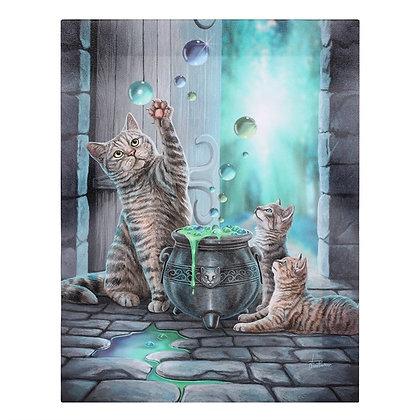 Hubble Bubble Cat - Lisa Parker Canvas
