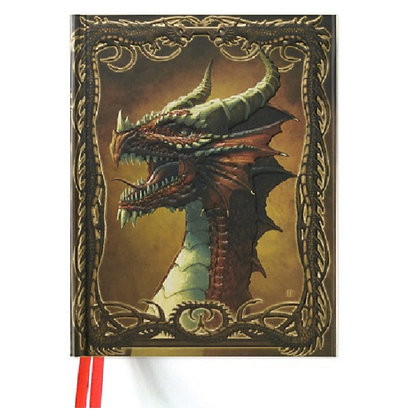 Red Dragon Blank Sketch Book