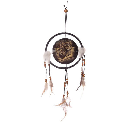 Loyal Companions Wolf Lisa Parker Dreamcatcher - 16cm
