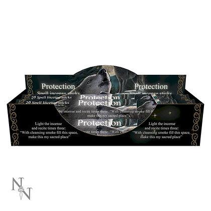 20 Protection Spell Lavender Incense Sticks - Lisa Parker
