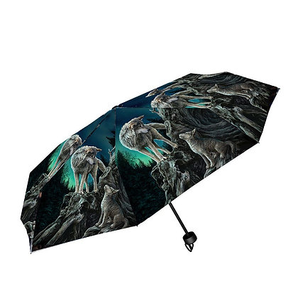 Guidance Wolf - Lisa Parker Umbrella