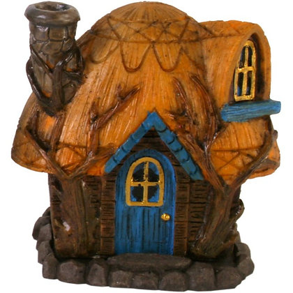 Fairy House Incense Cone Holder Ornament (Lisa Parker)