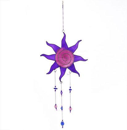 Purple 'Sun' Catcher
