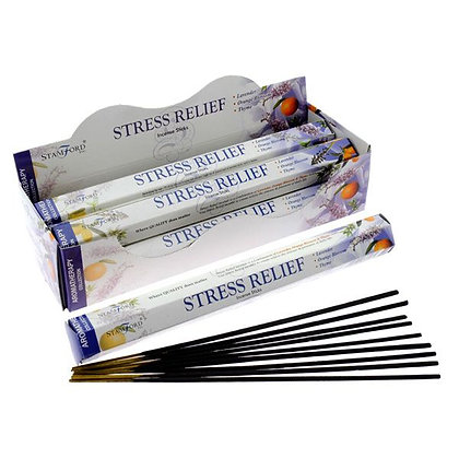 20 Stamford Hex Aromatherapy Incense Sticks - Stress Relief