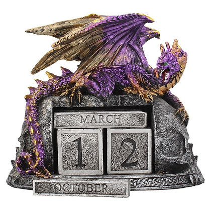 Nightwynd Dragon Calendar Ornament 17cm