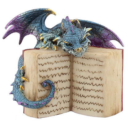Book Dragon Ornament