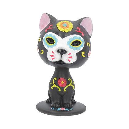 Bob De Los Muertos Cat Ornament - 10.5cm