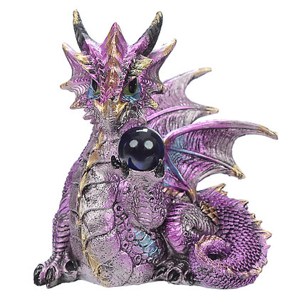 Crystal Soothsayer Dragon Figure