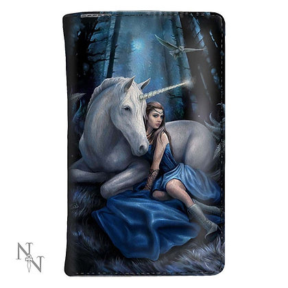 Blue Moon Unicorn Purse 14cm (Anne Stokes)