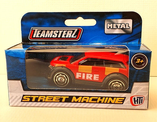 Teamsterz Street Machine Fire Car - Red
