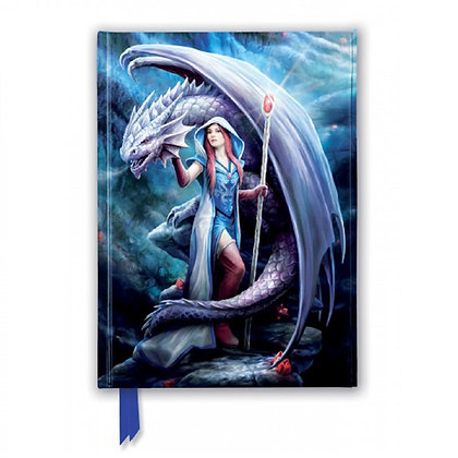 Dragon Mage Embossed Journal - Anne Stokes