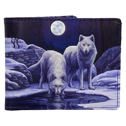 Warriors of Winter Wolf Wallet (Lisa Parker)
