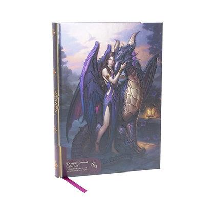 Dragon Sanctuary Embossed Journal - 17cm (James Ryman)