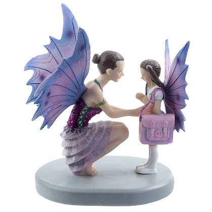 Ready For School Fairy Ornament (Natasha Faulkner)