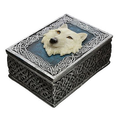 Protector of the North Secrets of the White Wolf Trinket Box
