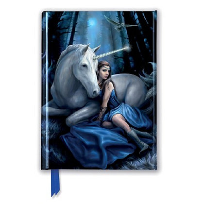 Blue Moon Embossed Pocket Book - Anne Stokes