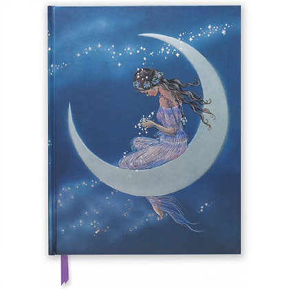 Moon Maiden Embossed Blank Sketch Book