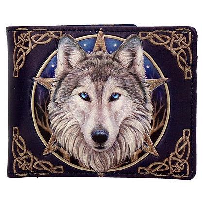 Wild One Wolf Wallet (Lisa Parker)