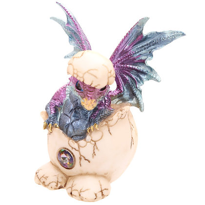 Baby Dragon Figure Hatching From Egg